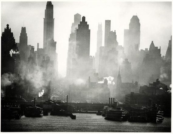 Andreas Feininger (1906-1999): 42nd Street View, 1942