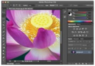 Adobe Photoshop CS6: Programmoberfläche