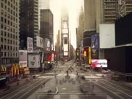 """Stille Welt"": Times Square, New York (Lucie & Simon)"