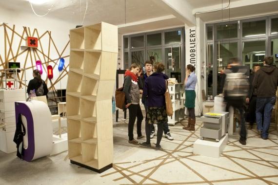Ausstellung zur Designers' Open (2010)