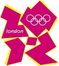 Logo der Spiele der XXX. Olympiade 2012 in London