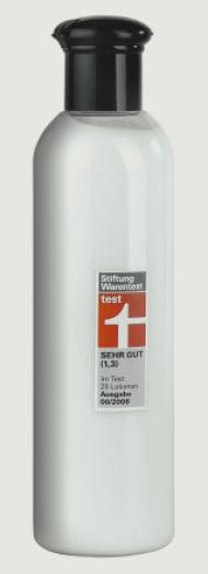 Produkt mit neuem«Test»-Logo