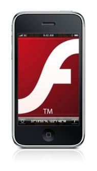 Flash und iPhone (Montage)