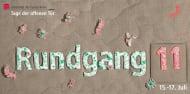 """Rundgang 11"" (Programmheft, Titel)"