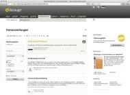 dasauge 6.0 (Bildschirmfoto Stellenmarkt)
