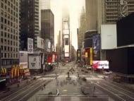 «Stille Welt»: Times Square, NewYork