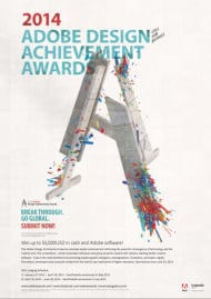 Adobe Design Achievement Awards 2014 (Plakat)