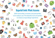 "Squid.ink: ""Flat Icons"""
