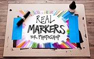 """Real Markers for Photoshop"""