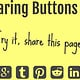 Simple Sharing Buttons Generator (Pixelgangster)