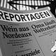 Reportagen Band#38 (Slanted)