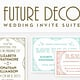 50 Wonderful Wedding Invitation & Card Design Samples (Design Shack)