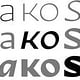 Typeface of the Month:Nakoso (Slanted)
