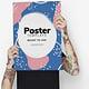 30+ Best Poster Mockup Templates2019 (Design Shack)