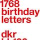 1.768 birthdayletters (Slanted)