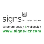 Signs – Corporate Design, Grafik-Design & Webdesign