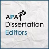 APA Dissertation Editors