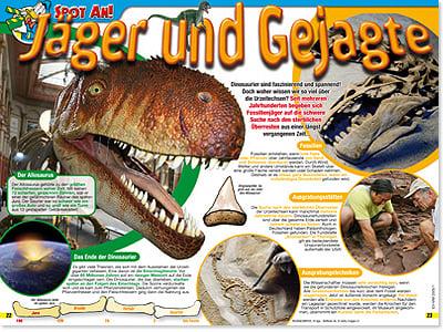 Spezial, Dinosaurier im Micky maus-Magazin