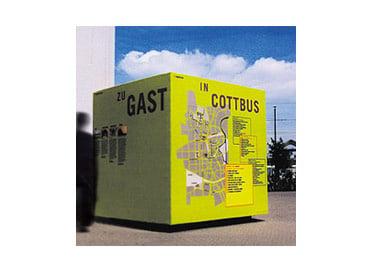 TU Cottbus, z.B. Leitsystem für den Öffentlichen Raum