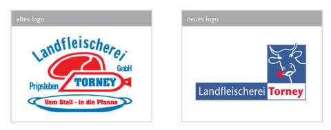 Redesign für die Landfleischerei TORNEY, Pripsleben