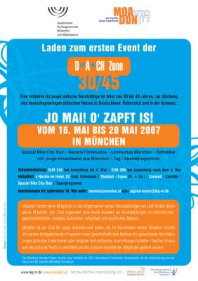 """Flyer für Projekt """"DACH Zone"""", Kunde: Moadon.at"""