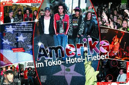 Tokio Hotel in Amerika
