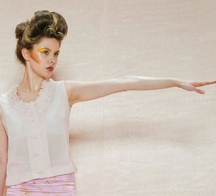 Idea, Make up & Hairstyling by Valerie Claire Bodeux; Photographer: Paul Gisbrecht