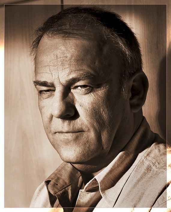 Portrait meines Vaters ... gerade als Alleinunterhalter im Einsatz ...