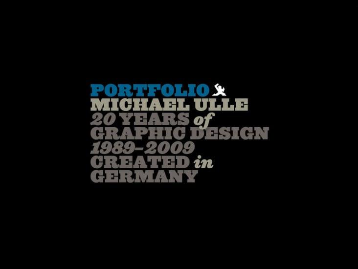 Portfolio 2009 | Michael Ulle