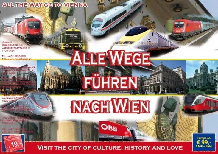 Plakart für ÖBB