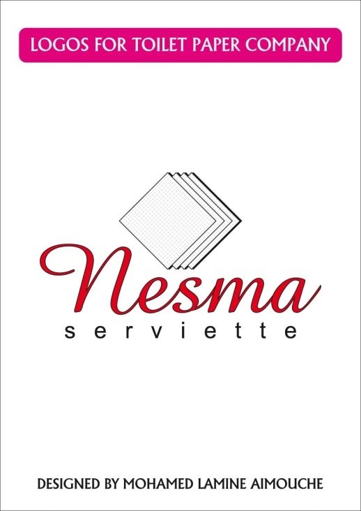 LOGOS FOR TOILET PAPER COMPANY CALLED NESMA