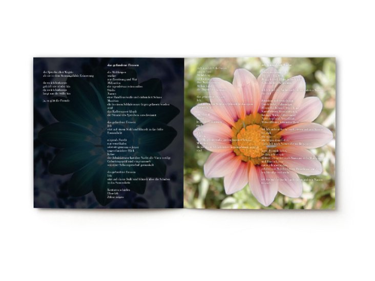 "Booklet der CD Ewa Firsowicz ""Das Meer"""