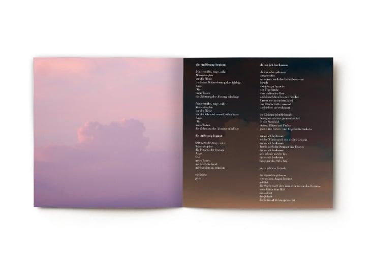 "Booklet der CD Ewa Firsowicz ""Das Meer"""