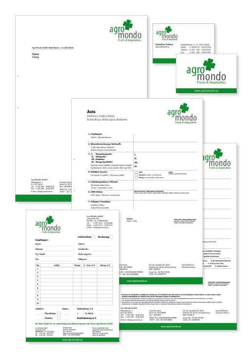 Corporate Design Agromondo Gmbh Von Thomas Schmiejka