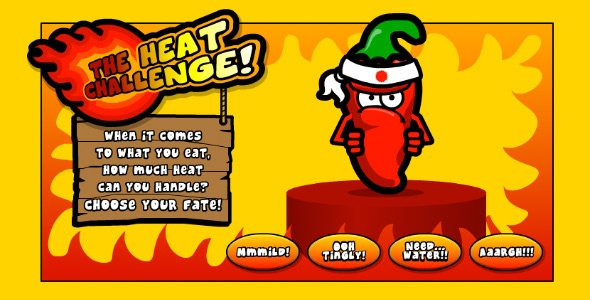 Takeaway Tom: The heat challenge – a fun way to order hot and spicy meals