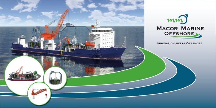 finaler Entwurf eines 2 × 4 m Spannbanners für die SMM 2010