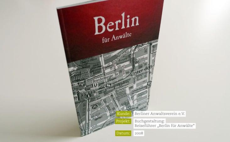 """Berliner Anwaltsverein – Reiseführer """"Berlin für Anwälte"""""""