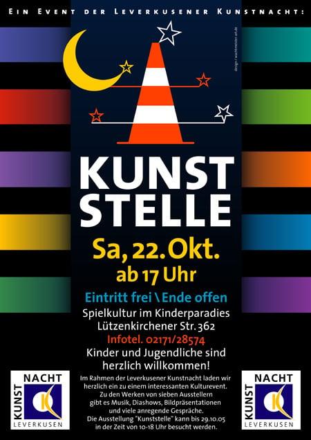 Plakat Kunststelle