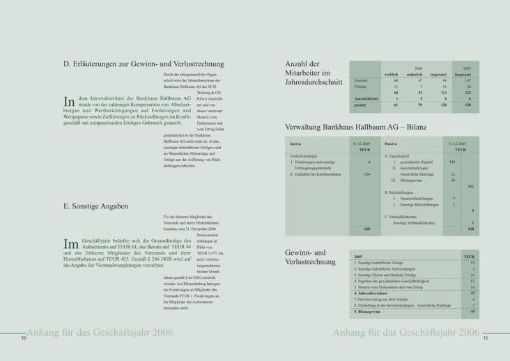 hallbaum geschaeftsbericht 2006 Seite 3031