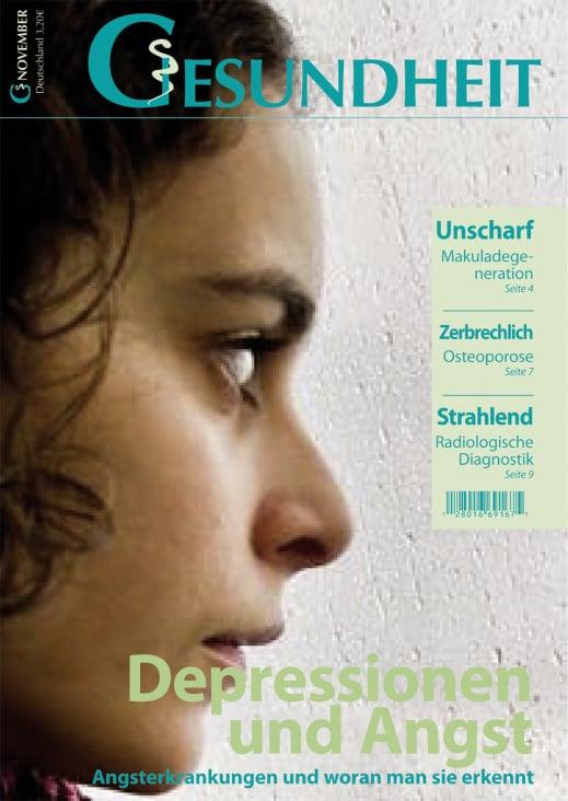 Magazincover zum Thema Gesundheit