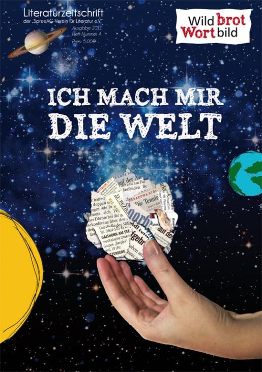 """Titel für die Litereaturzeitschrift """"Wildbrot Wortbild"""""""