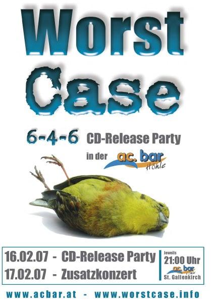 Worst Case CD-Release Tour in Österreich