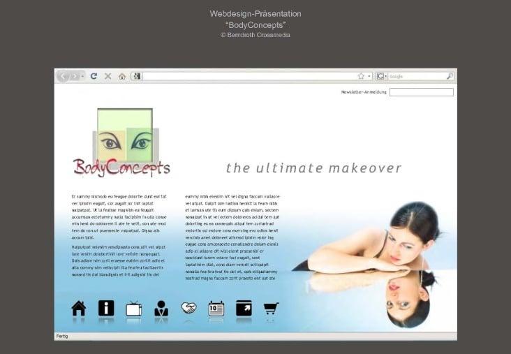 BodyConcepts Web-Entwuerfe Seite 03