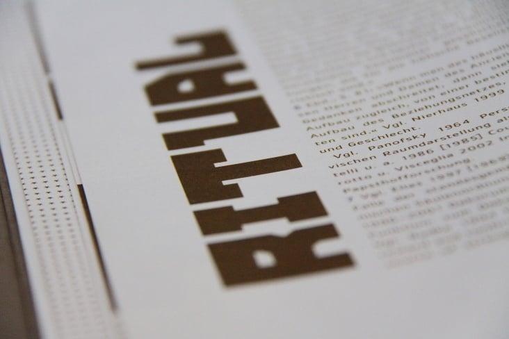 "Renaissancebuch / Essay ""Ritual"""