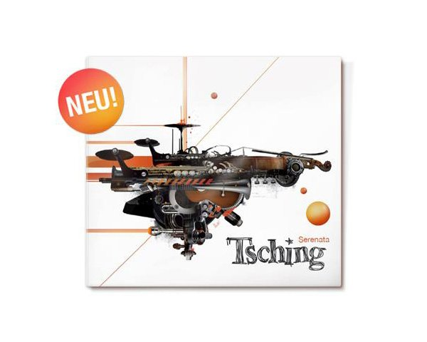 Cover and poster illustrations for Berlin-based trio Tsching, CD-release october 2011