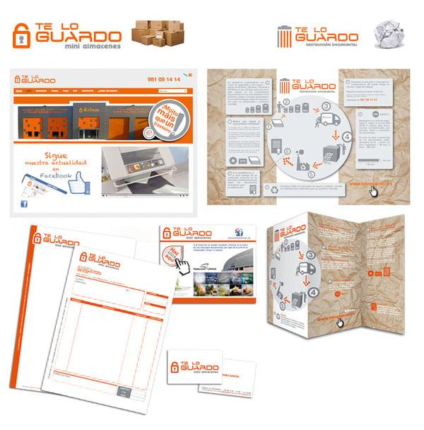Corporative image, bussines stationery, web