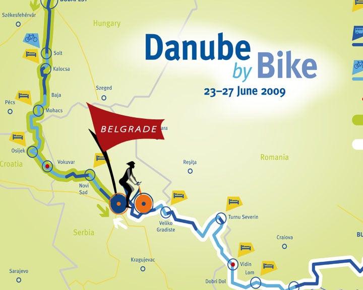 Danube Landkarte