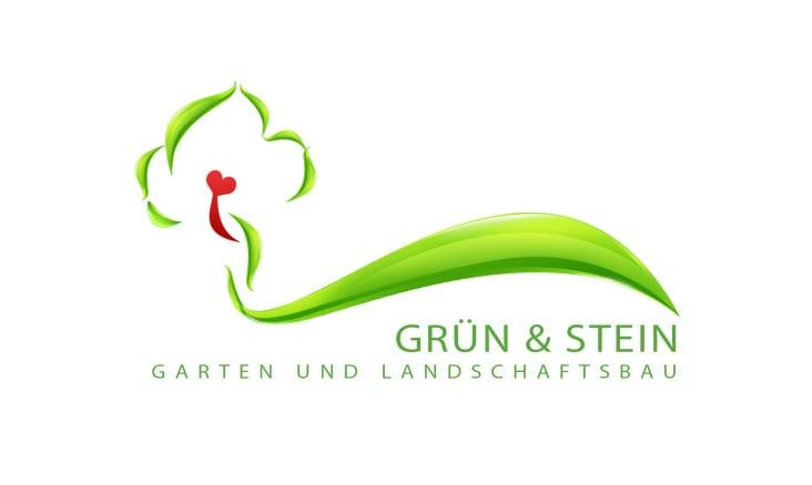 Grün und Stein