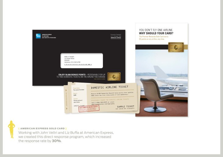 American Express Gold Card Direct Mail