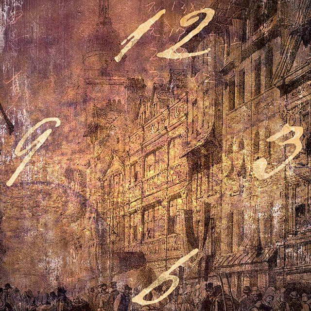 Wanduhren Motiv: The City